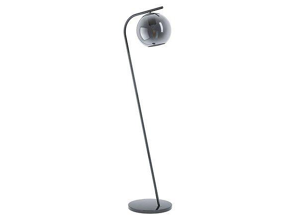 Black Red White Lampa Podlogowa Terriente 150cm X 26cm Lampa Podlogowa Wykonana Z Metalu W Czarnym Kolorze Ze Szklanym Kloszem Lamp Light Decor
