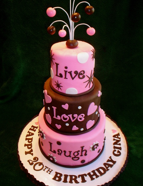 Birthday Cake Live Images ~ Best images about live love and laugh on pinterest pewter lobsters tropical weddings