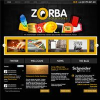 Marketing agency, Zorba Solutions, receives an online facelift thanks to The Frog.