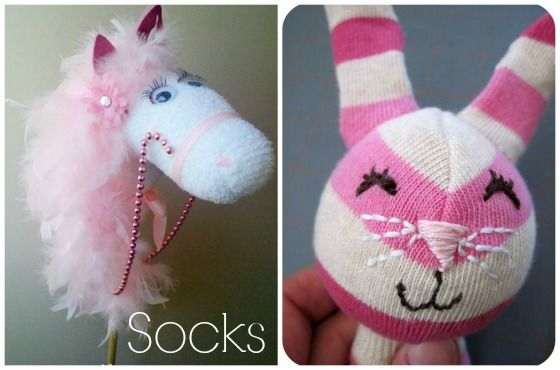 homemade toys to make with socks