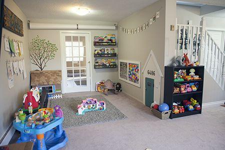 In home daycare decor
