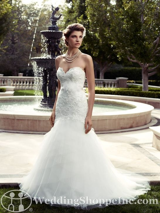 Casablanca Bridal Gown 2094 from Wedding Shoppe, Inc. - http://www.weddingshoppeinc.com