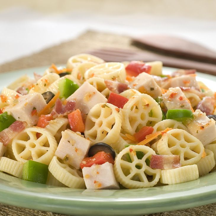 ... & salads :) on Pinterest | Penne pasta salads, Dressing and Bacon