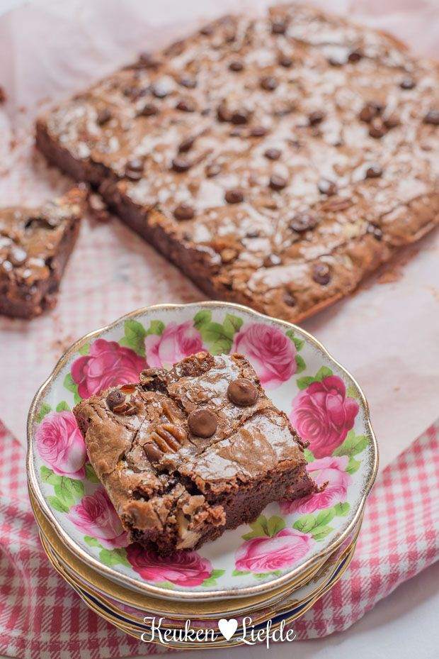 Lazy Sunday: Mister Nutty Caramel Brownie - Keuken♥Liefde