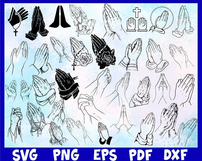 Etsy Shopping Cart Praying Hands Clipart Hand Clipart Hand Images