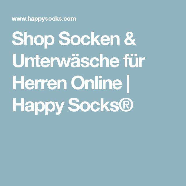 Shop Socken & Unterwäsche für Herren Online | Happy Socks®