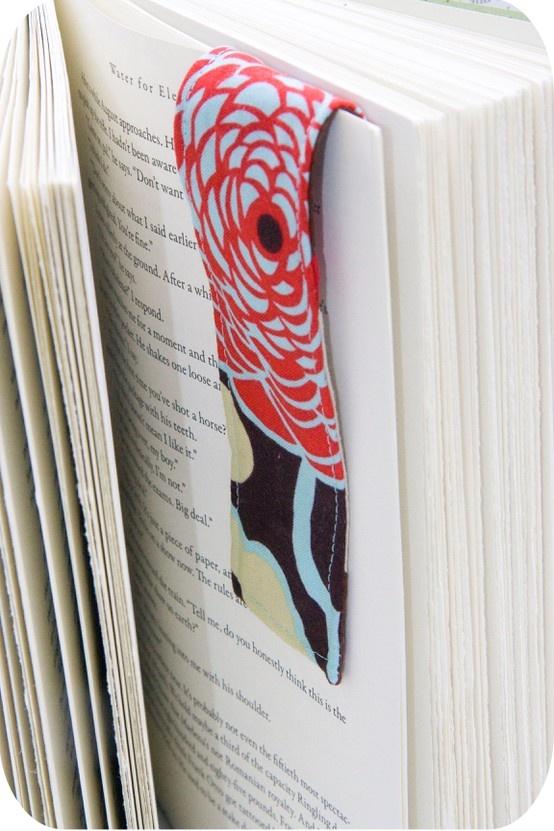 marque pages tissus avec aimant