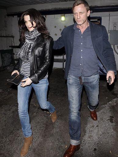 Rachel Weisz in MIH jeans & Daniel Craig