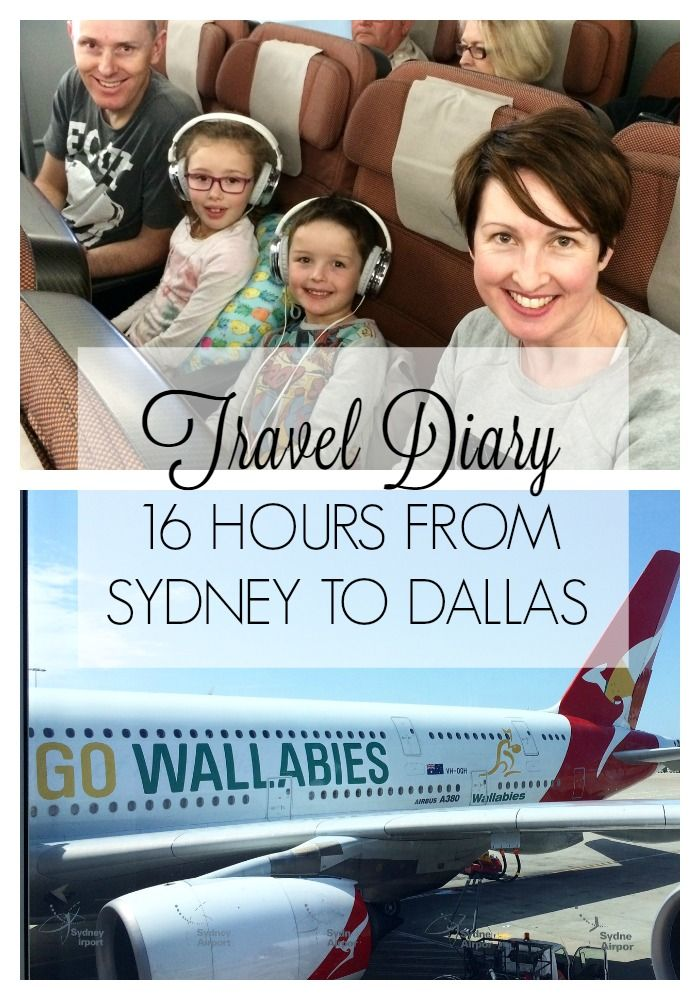 Travel Diary | 16 hours from Sydney to Dallas - Who knew long haul travel could be fun!! We had a ball on our super-long haul, non-stop Qantas flight. These are my top tips for enjoying your flight.
