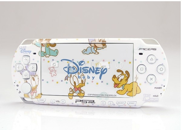 DISNEY BABY PSP 2000 Dual Colored Skin Decorative Skin Sticker Design Decal  Model: 0621-04  http://www.whattheskin.com/disneybabypsp2000dualcoloredskindecorativeskinstickerdesigndecal-p-4.html