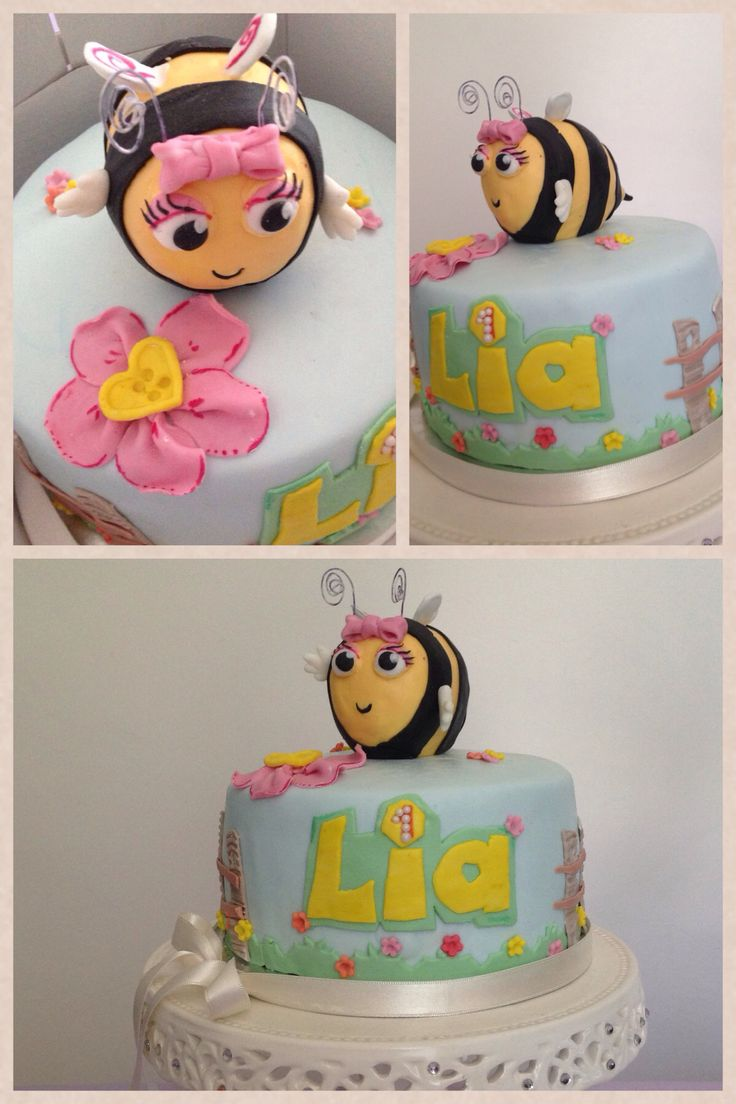 Little bee cake