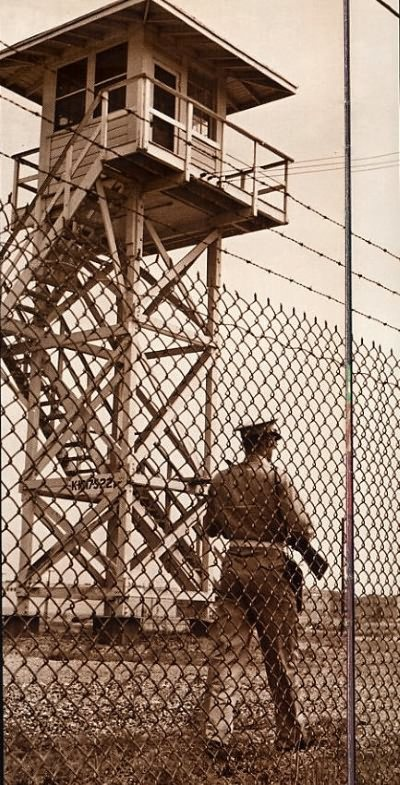 Guard Tower at Oak Ridge - 1945