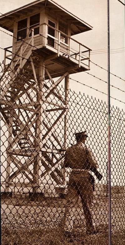 Guard Tower at Oak Ridge - 1945