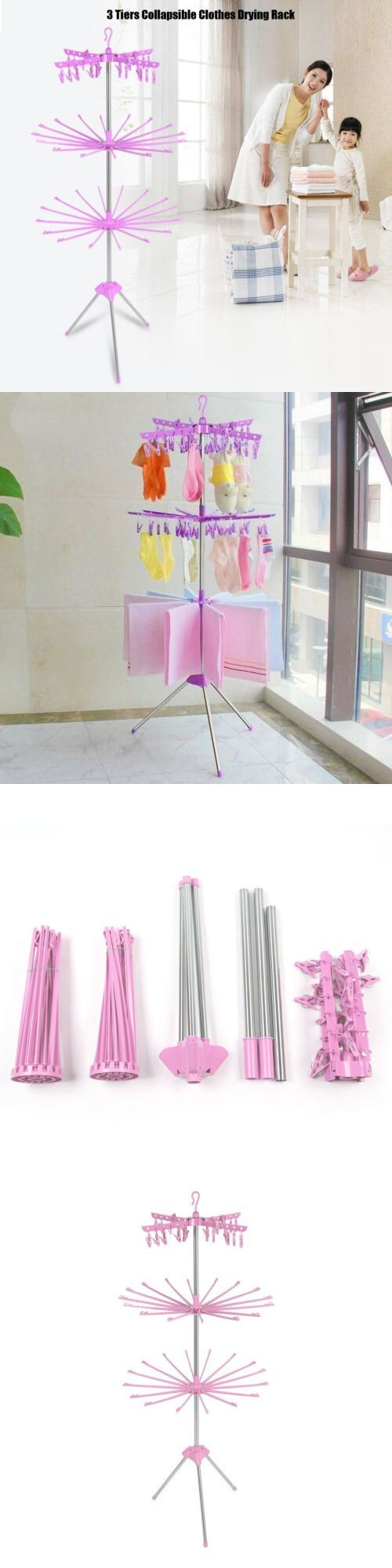 Clothes lines and hangers 81241: 3-storey, folding laundry storage for …..   – Baby Blanket