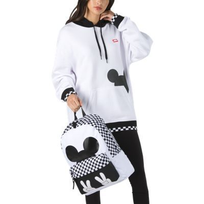 d7c41bd464 Disney x Vans Checkerboard Mickey Mouse Pullover Hoodie