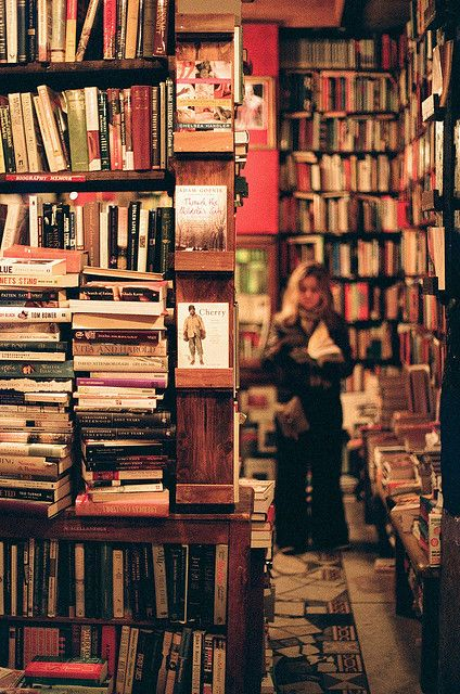 I need to get lost in a book store…