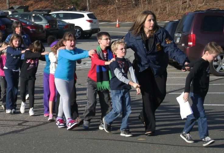 December 14, 2012 — The Sandy Hook Elementary School shooting | The 50 Most Powerful Pictures In American History