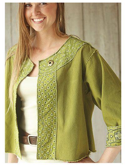 Cutting Edge Jacket Sewing Pattern
