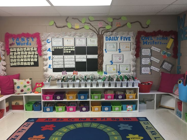 Literacy CAFE & Daily Five Board