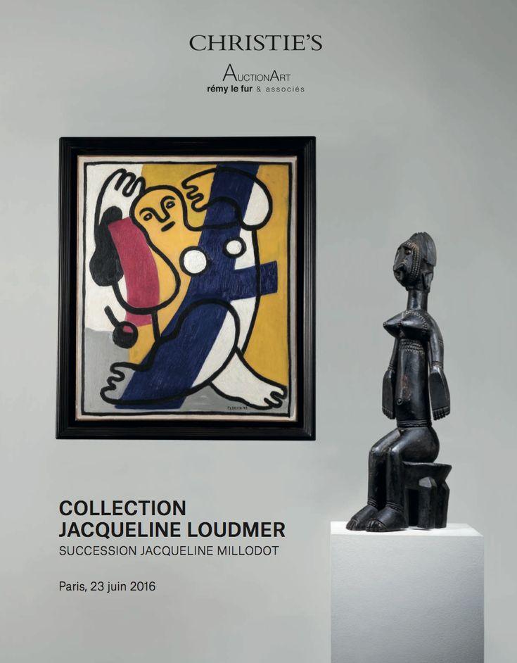 Jacqueline Loudmer Christie's 23 Juin 2016 Paris