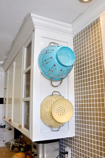 end cabinet kitchen strainers on kitchen cabinet end cap lindsay redd via 3568