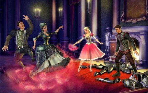 Barbie in The 12 Dancing Princesses Screenshots