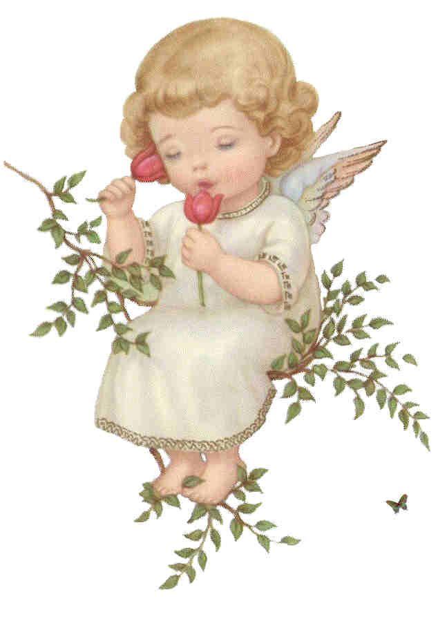 Angelitos Vintage, ángeles, angelitos, ángel, vintage