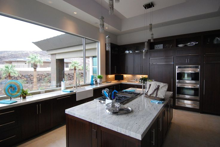 Best 53 High End Contemporary Kitchen Designs With Natural 400 x 300