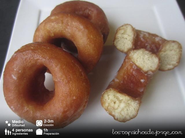 Berlinas Caseras (Donuts)