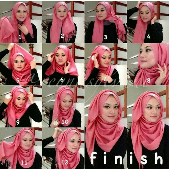 Tutorial de Hijab
