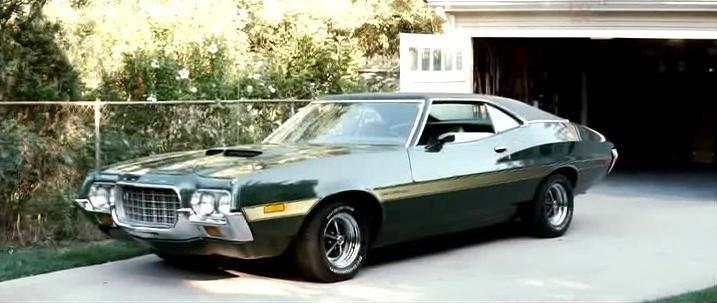 Gran Torino FORD 1972 GRAN TORINO SPORT #ClintEastwood #WaltKowalski #ProductPlacement