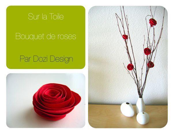 Rose en papier : facile à réaliser