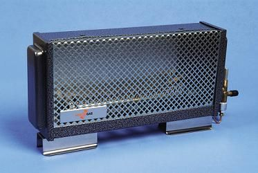 Sunny Heater €89.00 Dimensions - 37cm long 18cm height (to floor) 7.5cm deep  Weight - approx 1.5kg  Estimated Output = 1kw  Complete with rubber hosing connection for gas input