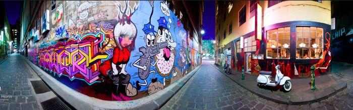 Melbourne lane way art