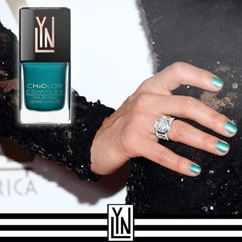 Halal Nail Polish - LYN (Love Your Nails), Teal Color Nails