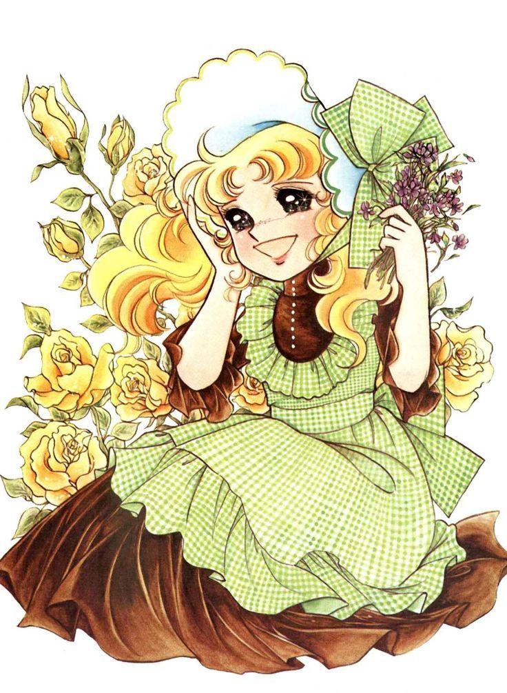 Candice White Andre by Yumiko Igarashi color sleeve ✤ キャンディキャンディ •