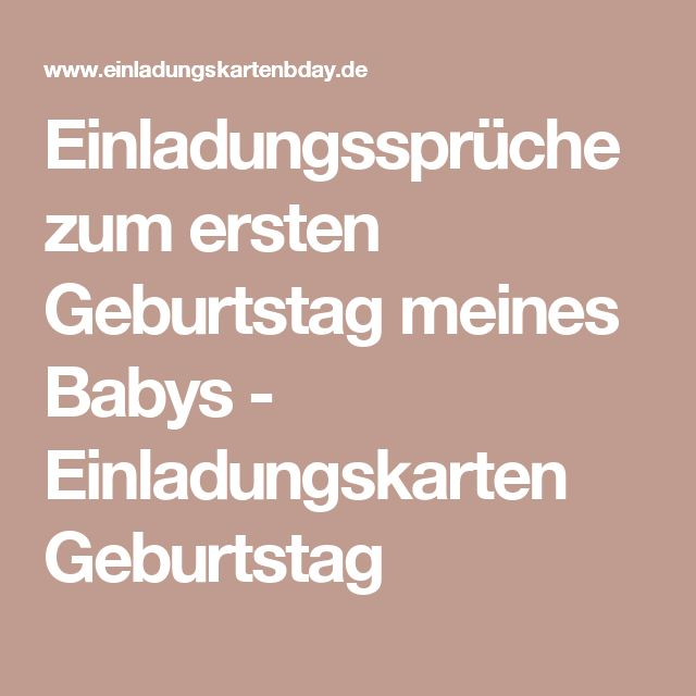 the 25+ best einladungstexte geburtstag ideas on pinterest, Einladung