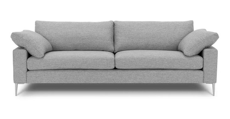 Light gray sofa 3 seater solid wood legs article burrard modern furniture living rooms scandinavian furniture and sofa sofa