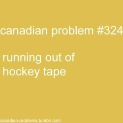 Oh Canadian problems
