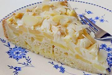 Gefüllter Pudding – Apfelkuchen