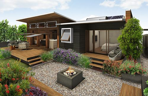 29 best sustainable houses images on pinterest spring for Green homes design