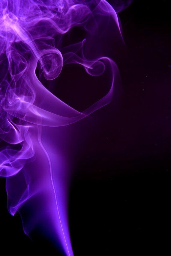 Purple smoke photo by ShawnMcNurney on Etsy, $20.00