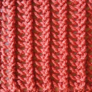 Simple Vertical Lace Stitch - Purl Avenue
