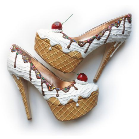 Shoe Bakery: Cake Shoes - Dessert Shoes - Ice Cream Shoes