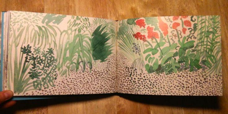 david hockney yorkshire sketchbook - Recherche Google