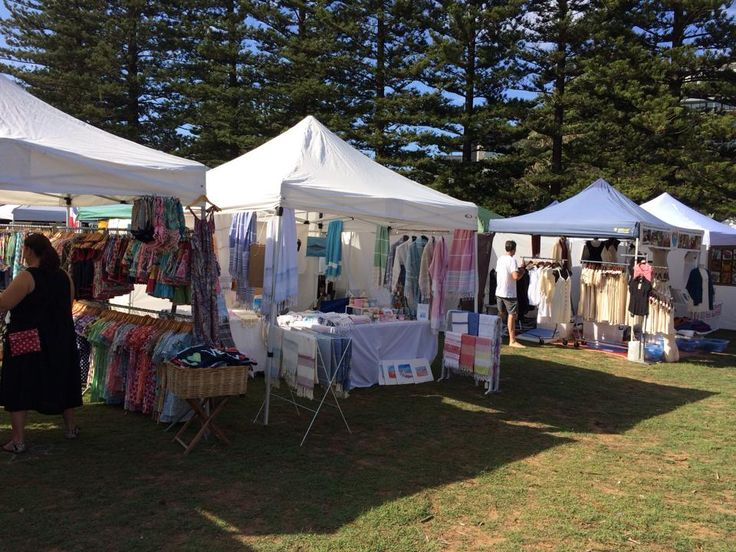 If you're at this week's Palm Beach markets, be sure to come and visit this stall! We'll be selling all our usual towels, cards and candles along with our brand new stock!!