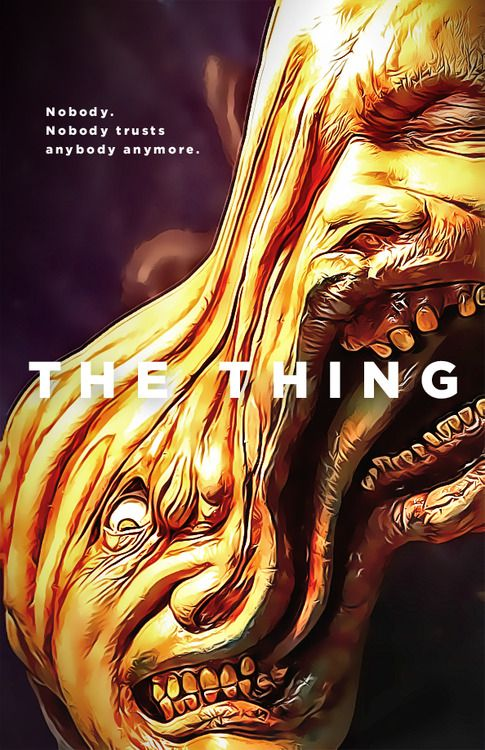 The Thing by bcapazo #horror  #movies #posters