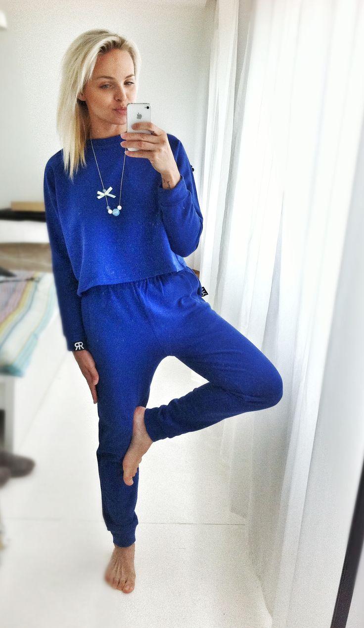 Cobalt tracksuit Kobaltowy dres  http://www.barracudawear.pl/basic/kobaltowa-bluza-3-4/ http://www.barracudawear.pl/basic/kobaltowe-spodnie-dresowe/