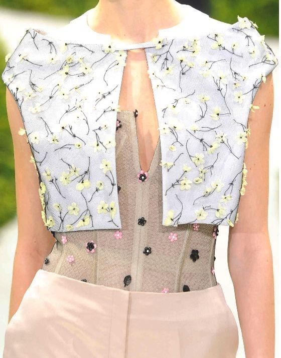 Stampe e patterns nelle sfilate di parigi haute couture for Haute couture today