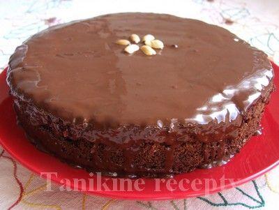 Jablčník na spôsob Sacherovej torty :: Recepty